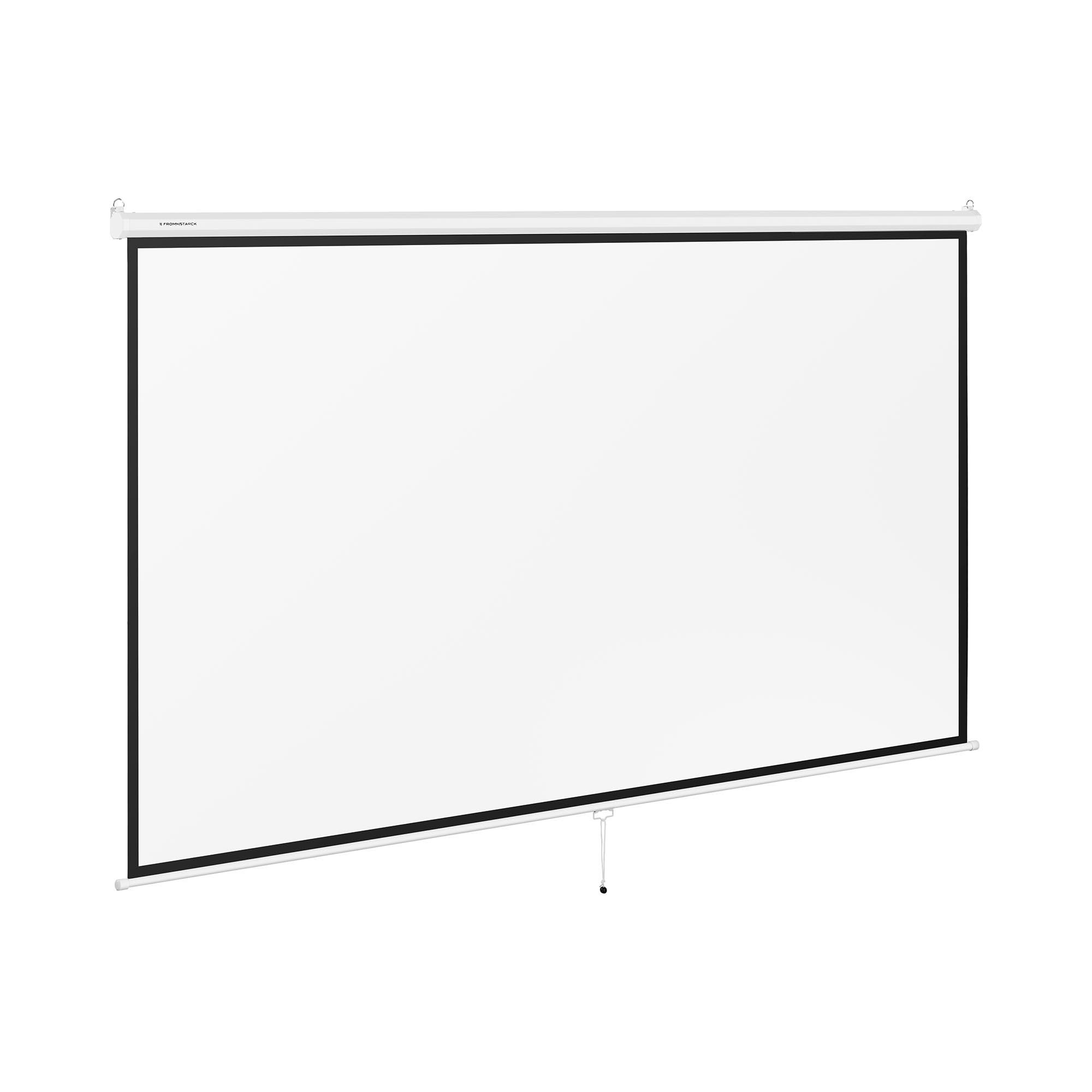 Fromm & Starck Beamerleinwand - 340 x 210 cm - 16:9 10260085
