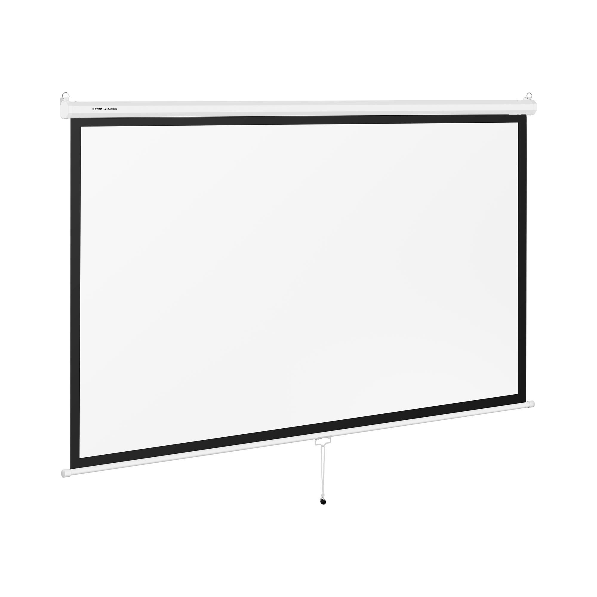 Fromm & Starck Beamerleinwand - 229,5 x 145 cm - 16:9 10260086