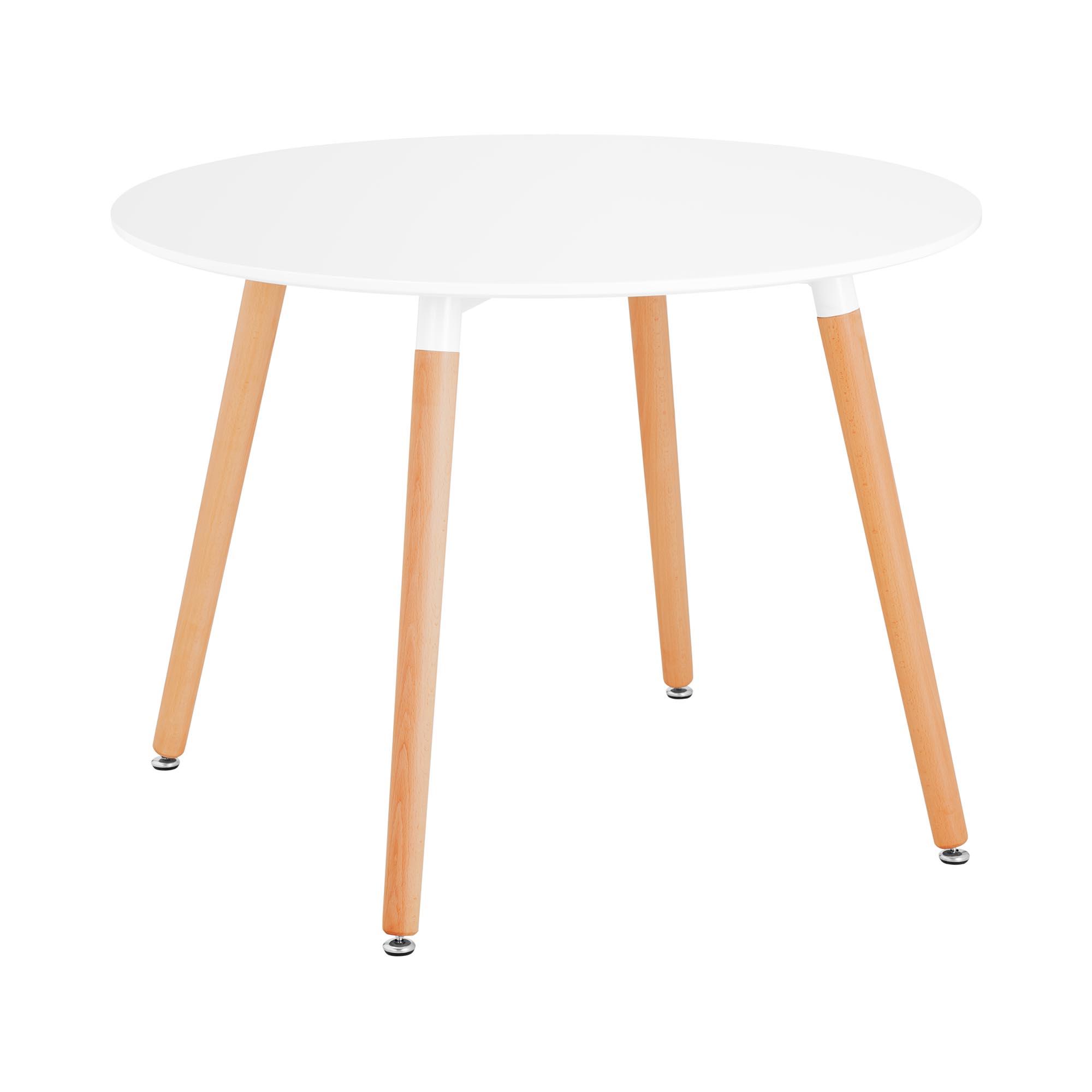 Fromm & Starck Tisch - rund - Ø 100 cm - weiß STAR_DESK_16
