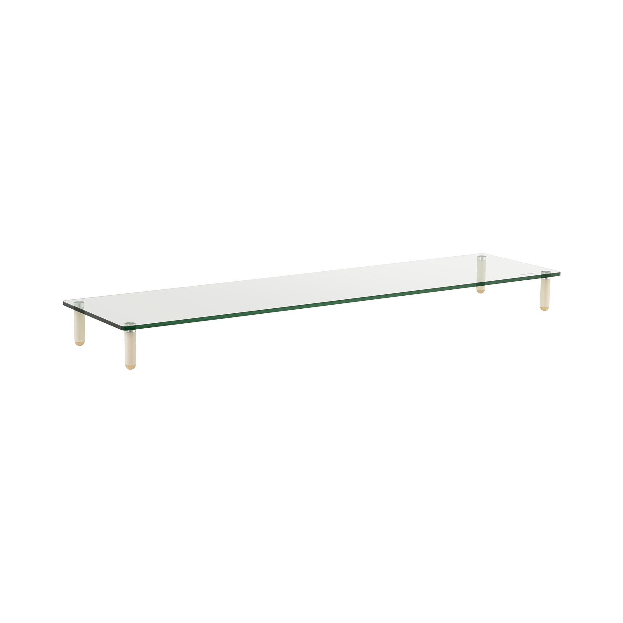 Fromm & Starck Schreibtischaufsatz - für zwei Monitore - Glas 10260174