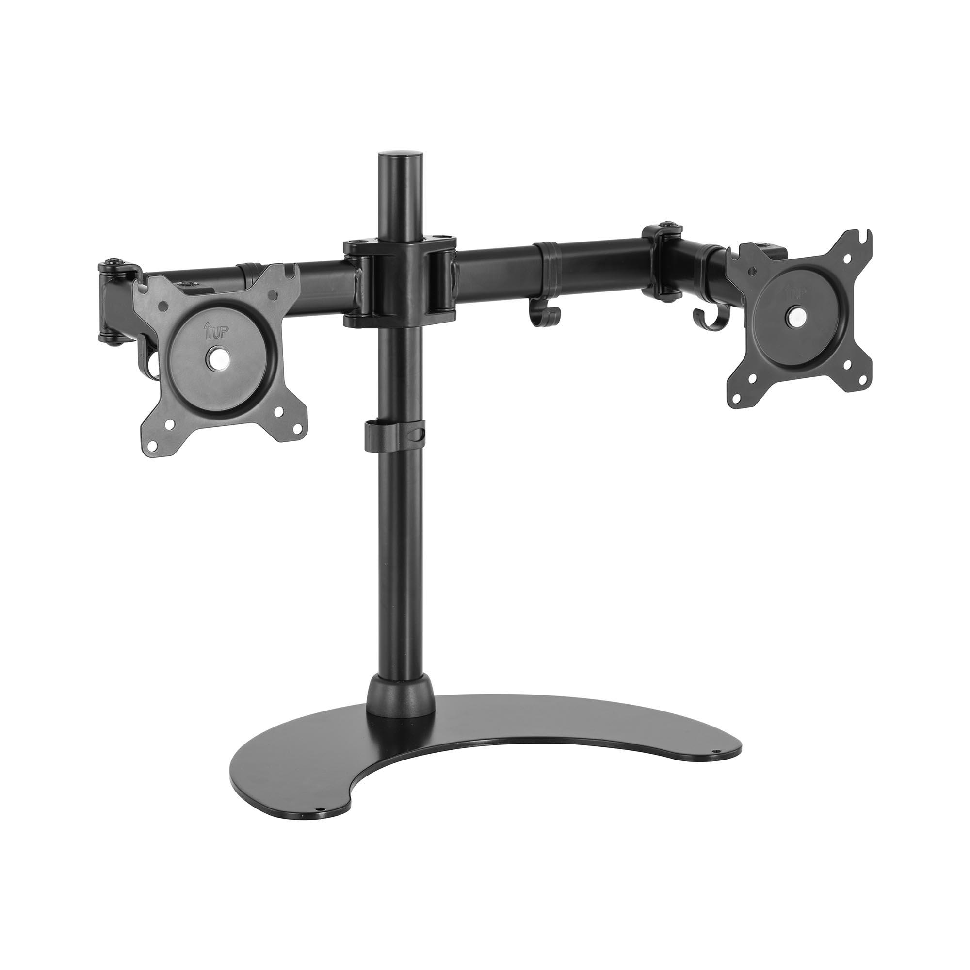 Fromm & Starck Monitorhalterung - 2 Monitore - Standfuß - 13