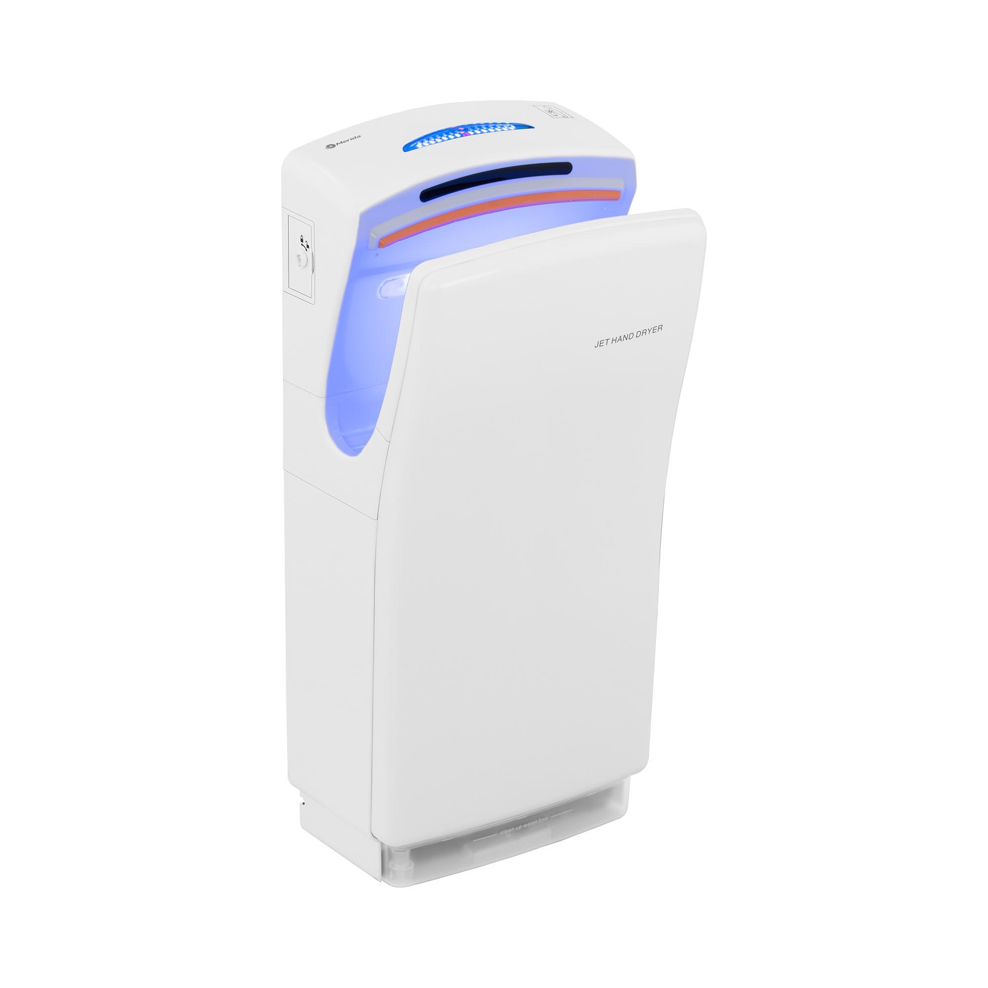 Merida Händetrockner - elektrisch - 1.400 W / 700 W - weiß 10290002