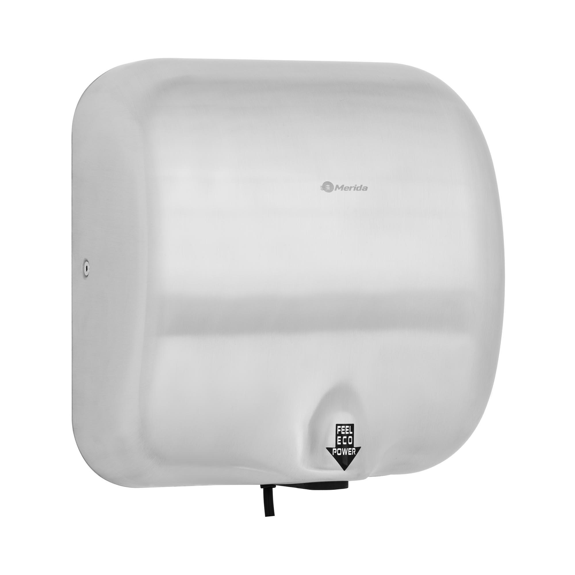 Merida Händetrockner - elektrisch - 1.800 W - matt 10290005