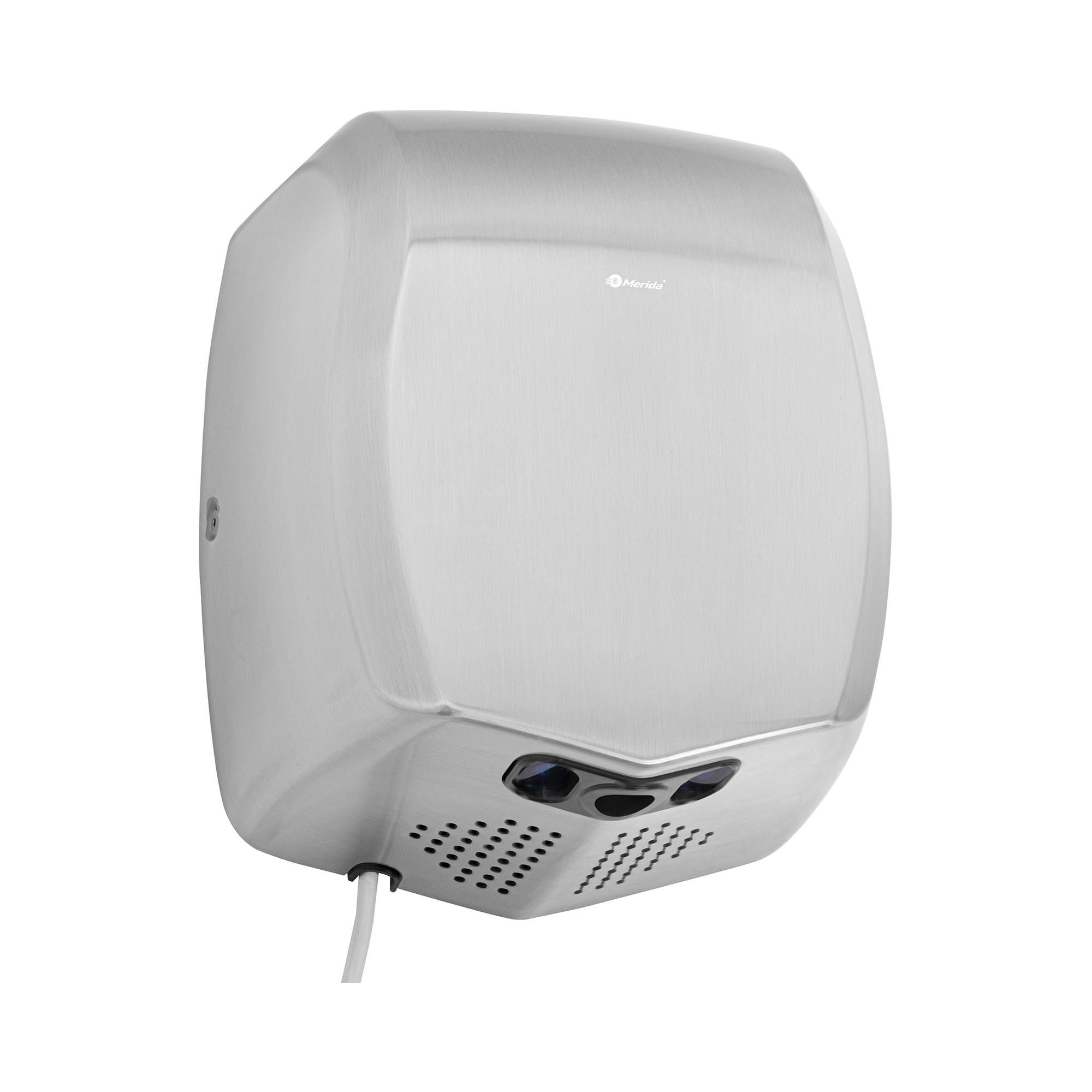 Merida Händetrockner - elektrisch - 800 W - matt 10290006